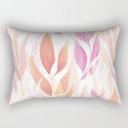 Flowers repeat Rectangular Pillow