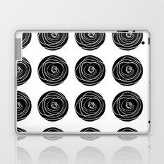 Swirly Dot Pattern Laptop & iPad Skin