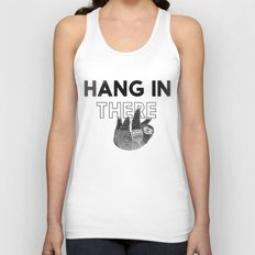 Hang in There Unisex Tank Top