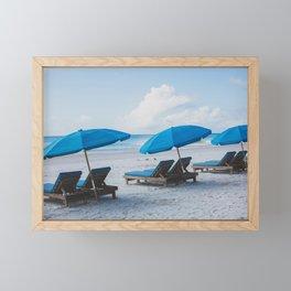 Mornings at the Beach II Framed Mini Art Print