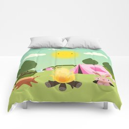 camping , outdoors , nursery decor , Comforters