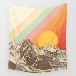 Mountainscape 1 Wall Tapestry