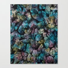 Crystal Points  Canvas Print