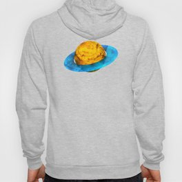 Colorful watercolor hand drawn planet. Hoody
