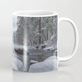 Merced River in Winter Coffee Mug