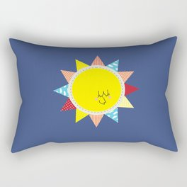 In the sun Rectangular Pillow