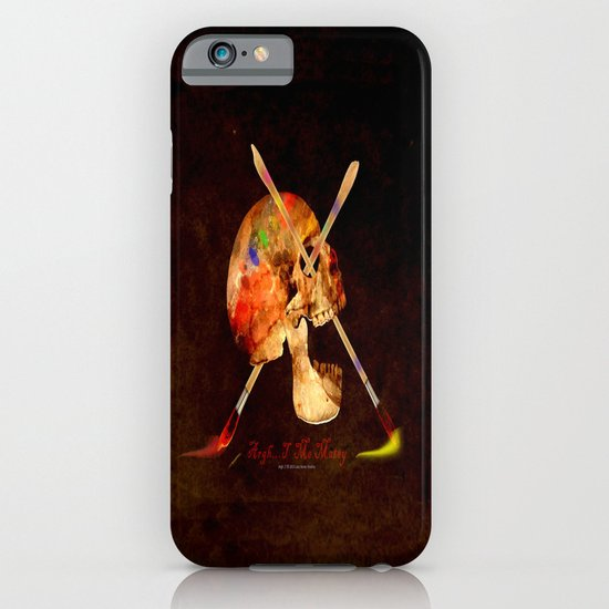 Argh…T  Me Matey 036 iPhone & iPod Case