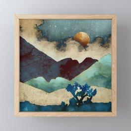 Evening Calm Framed Mini Art Print