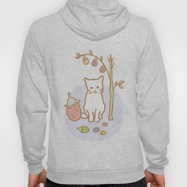 White Kitten Hoody