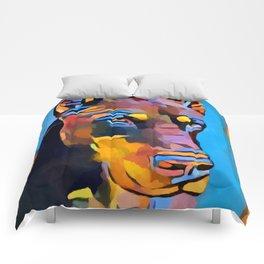 Doberman 6 Comforters