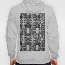 Azulejo in Black and White Hoody