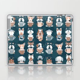 Doggie Coffee and Tea Time II Laptop & iPad Skin