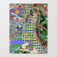 earth/ground/body Canvas Print
