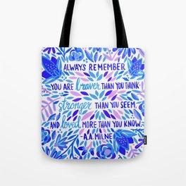 Always Remember – Indigo Palette Tote Bag