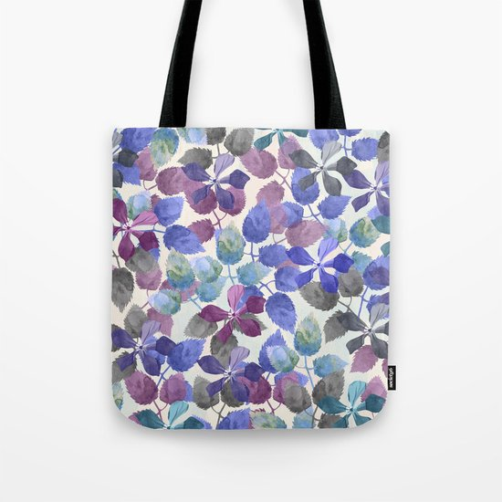 watercolor Botanical garden II Tote Bag