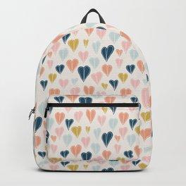 Heart Doodle Pattern 01 Backpack