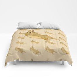 Butterscotch Binkie - Patterned+Main Comforters