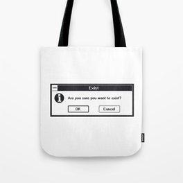 Basic Existentialism I Tote Bag