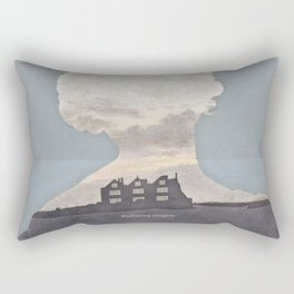 Emily Brontë Wuthering Heights - Minimalist literary design Rectangular Pillow