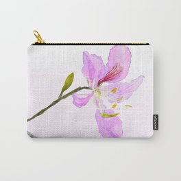 purple Buahinia Carry-All Pouch