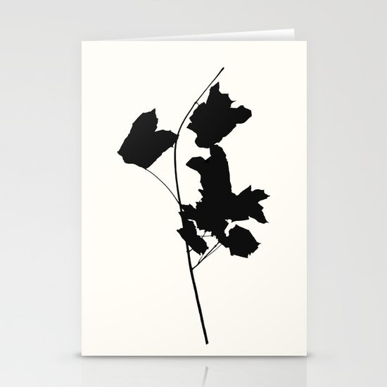 maple 1 Stationery Cards