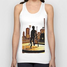 Roberto's Shadow Lives In Roberto's City Unisex Tank Top