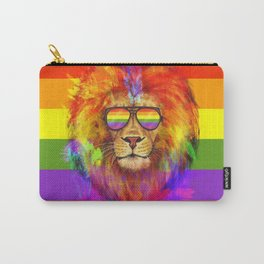 Rainbow Lion Pride Carry-All Pouch