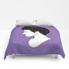 BianCamée Lilas Comforters