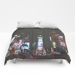 Evening Glow - Times Square Comforters