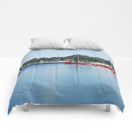 Summer river Comforters