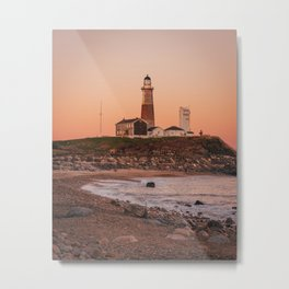 Montauk Lighthouse 01 Metal Print