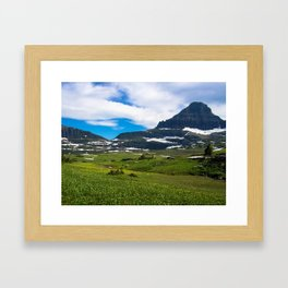 Logans Pass, Glacier National Park Framed Art Print
