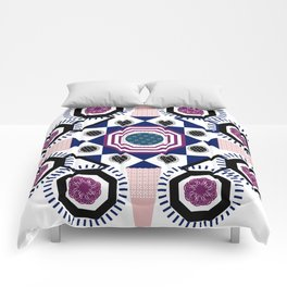 Mixed Emotions Mandala Comforters