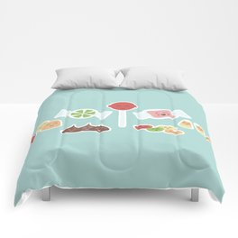 Happy Candy Comforters