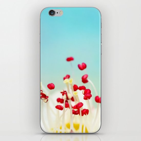 Blooming Candy Red iPhone & iPod Skin