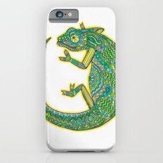 Quirky Chameleon iPhone 6s Slim Case