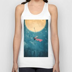 While the city sleeps... Unisex Tank Top