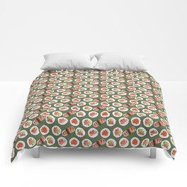 Sushi set Comforters