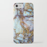 sunset iPhone & iPod Cases featuring Marble by Patterns and Textures