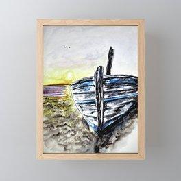 Abandoned Fishing Boat No.2 Framed Mini Art Print