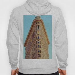 Flat Iron Building NYC (Color) Hoody