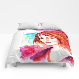 Celtic girl Comforters
