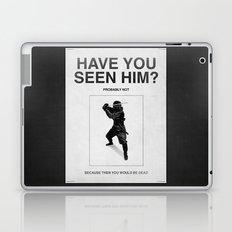 Have you seen him? Laptop & iPad Skin
