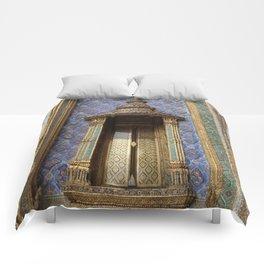 Ancient Doorway #3 Comforters