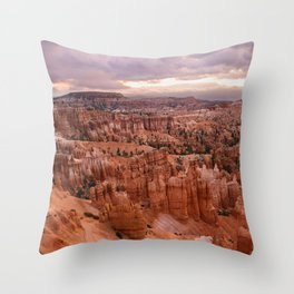 Sunset Point 6173 - Bryce_Canyon_National_Park, UT Throw Pillow
