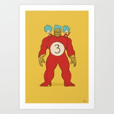 3 Things Art Print