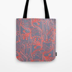 1982 Red Tote Bag
