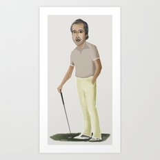 chevy chase Art Print