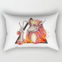 Peace of the Firey Rectangular Pillow