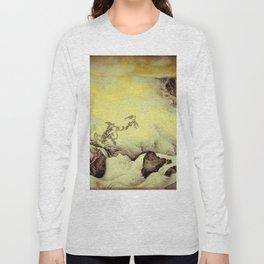 A Golden Winter Long Sleeve T-shirt